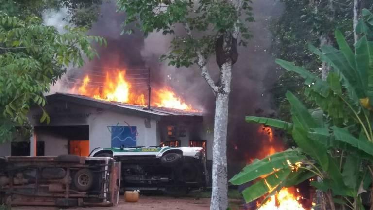 Garimpeiros queimam Ibama, ICMBio e Incra no AM