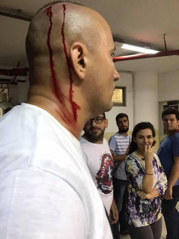 Homem � ferido em confronto na UFPE
