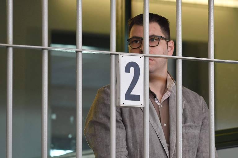 Valentino Talluto foi preso em novembro de 2015
