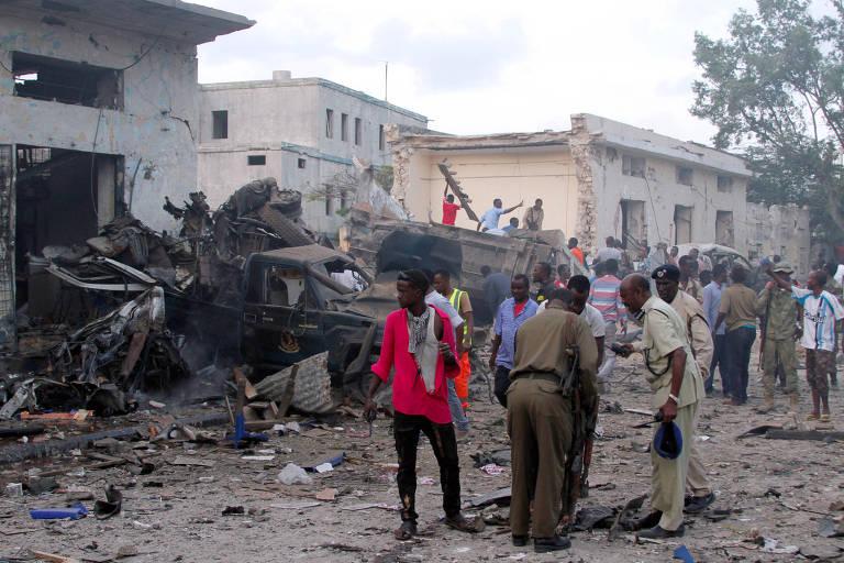 Resultado de imagem para Atentado na capital da Somália deixa ao menos 23 mortos e 30 feridos