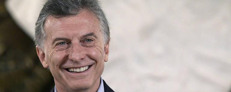 O presidente argentino Mauricio Macri – Juan Mabromata/AFP