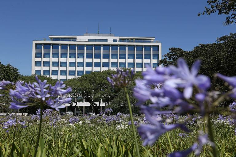 Campus da Cidade Universitária da USP, no Butantã, zona oeste de São Paulo