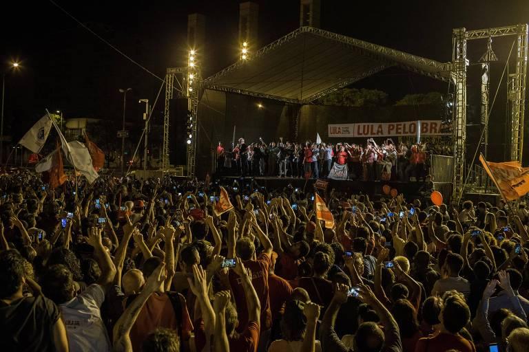 Caravana de Lula em Minas Gerais