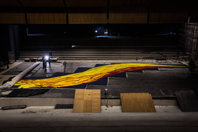 Tapeçaria de Tomie Ohtake destruída em incêndio de auditório é recriada