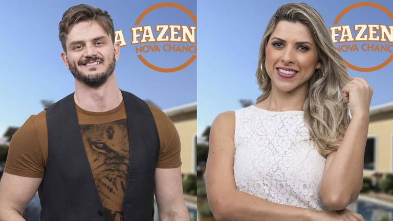 """Marcos Härter e Ana Paula Minerato em """"A Fazenda"""""""