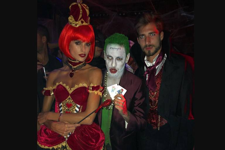 Halloween dos famosos 2017