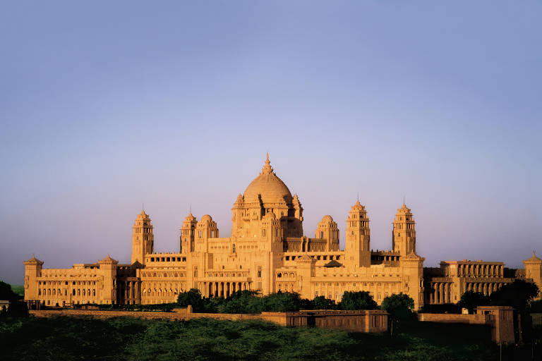 Palácio Taj Umaid Bhawan, em Jodhpur, foi eleito o melhor hotel do mundo em 2015 pelo Trip Advisor