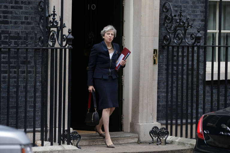 A primeira-ministra britânica, Theresa May, é uma das líderes políticas mais poderosas do mundo