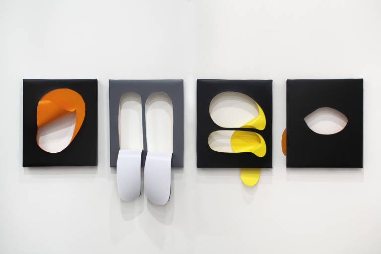 """Obra da série """"Doblecut"""", da alemã Kirsten Mosel"""