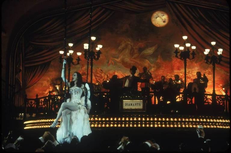 Nicole Kidman no musical 'Moulin Rouge!'