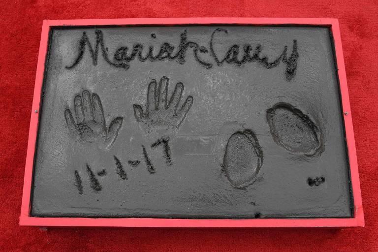 Mariah Carey é homenageada em Los Angeles