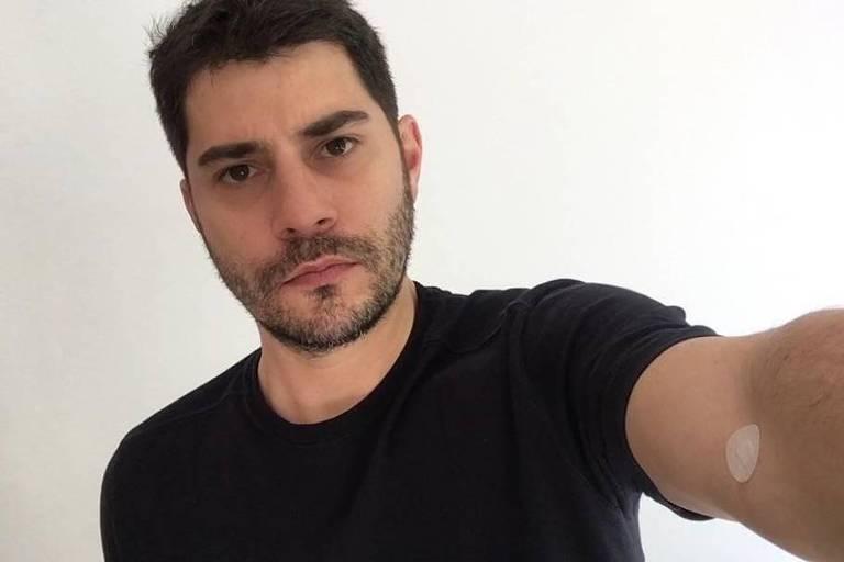 Foto publicada no instagram de Evaristo Costa