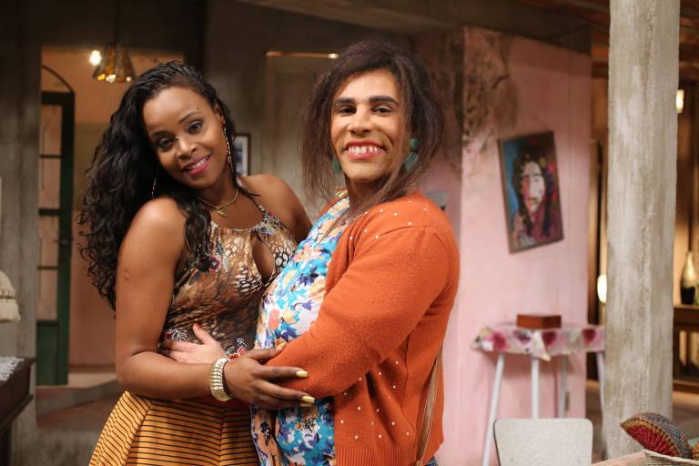 """Roberta Rodrigues e Rodrigo Sant'Anna em """"Tô de Graça"""""""