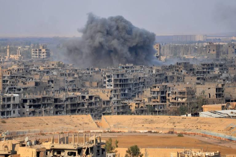 Exército sírio retoma Deir Ezzor