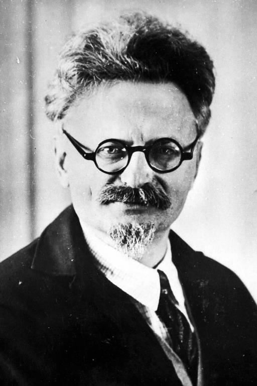 O líder revolucionário soviético Leon Trótski (1879-1940)