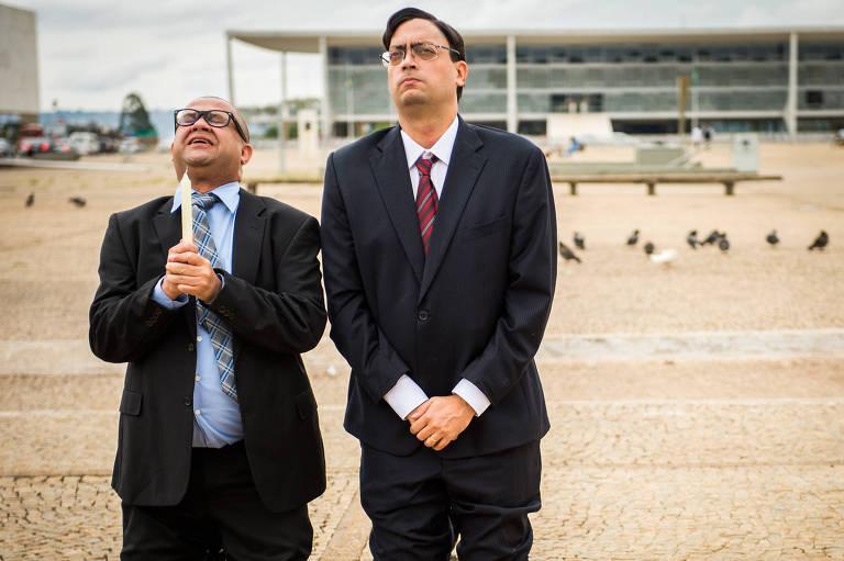 Welder Rodrigues e Fernando Caruso gravam especial para o Zorra