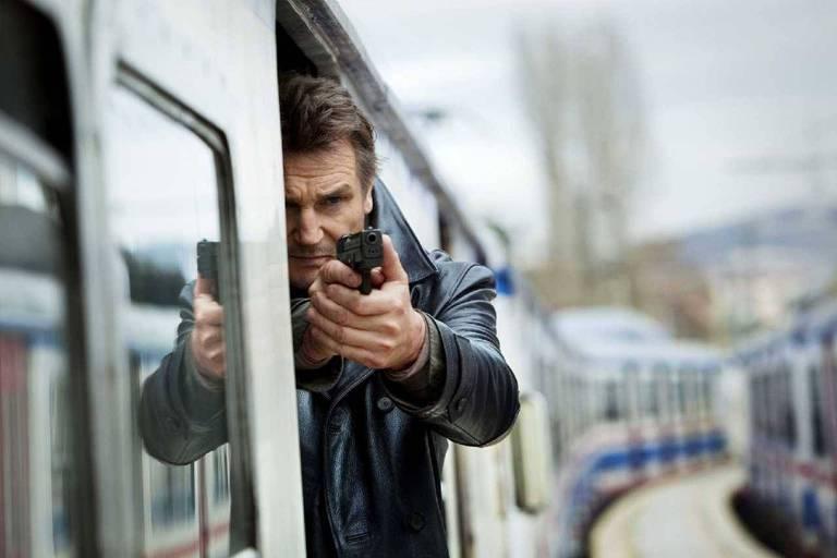 """Liam Neeson em cena do filme """"Busca Implacável 2"""""""