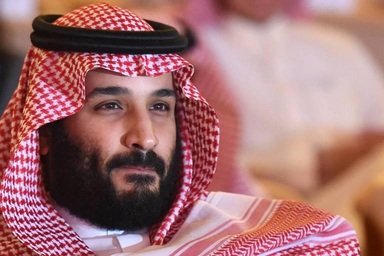 O príncipe herdeiro saudita Mohamed bin Salman, 32