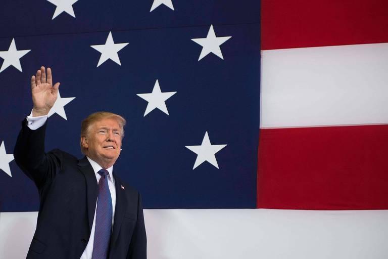 Encontros de Trump na �sia