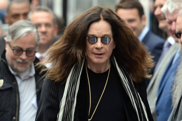 Ozzy Osbourne, do Black Sabbath, no Reino Unido