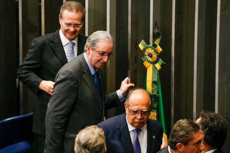 Se eu estivesse no poder, apoiaria Bolsonaro, diz Eduardo Cunha