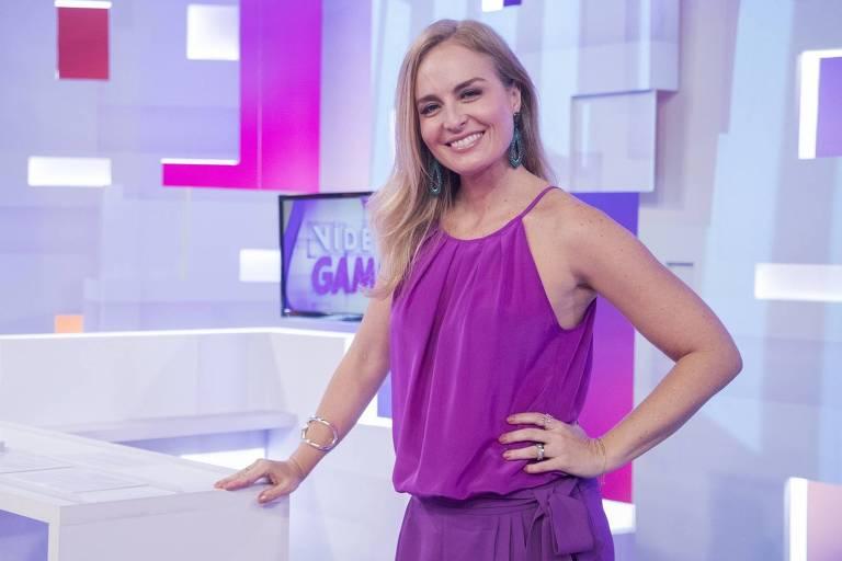 A apresentadora Angélica