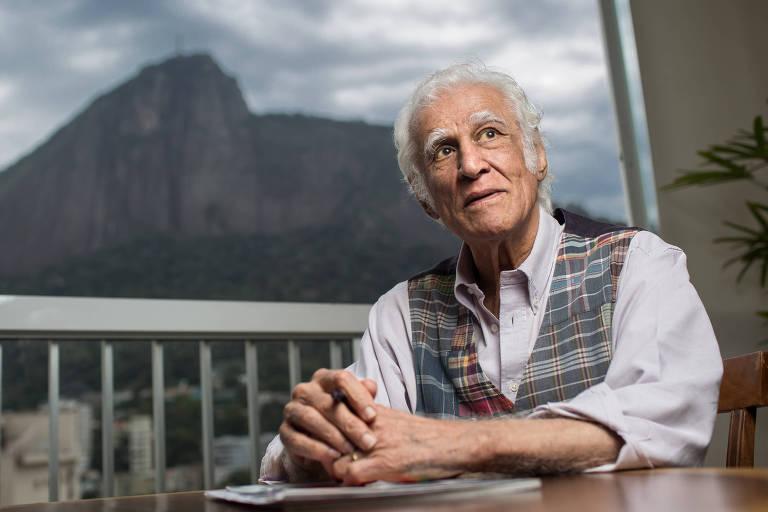 O artista Ziraldo, que faz 85 anos e tem mostra no Rio