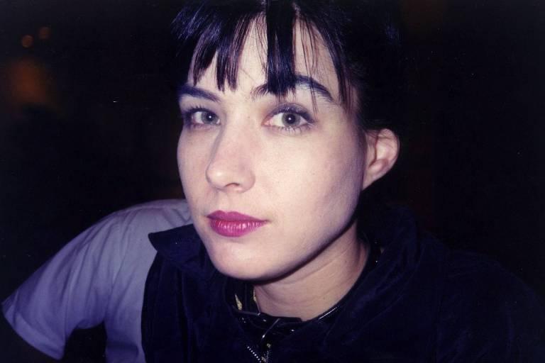 Kathleen Hanna, cantora e guitarrista das bandas Bikini Kill e Le Tigre