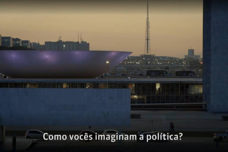 """Cena da série """"Política: Modo de Usar"""", da GloboNews"""