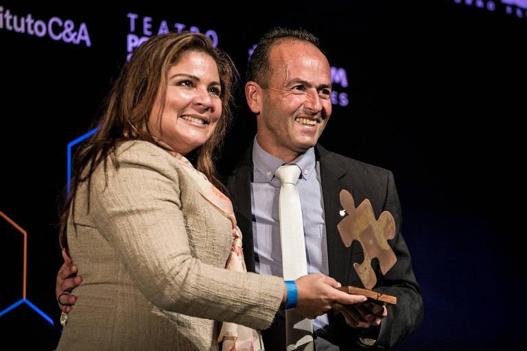 Valdeci Ferreira, da Fbac, é premiado com franquia de prisão humanizada.Voluntário há mais de 30 anos, Valdeci Ferreira, 55, venceu a 13ª edição do Prêmio Empreendedor Social, na noite desta segunda-feira (6), em cerimônia no Teatro Porto Seguro, em São Paulo.