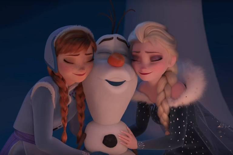 'Olaf - Em Uma Nova Aventura Congelante de Frozen', da Disney