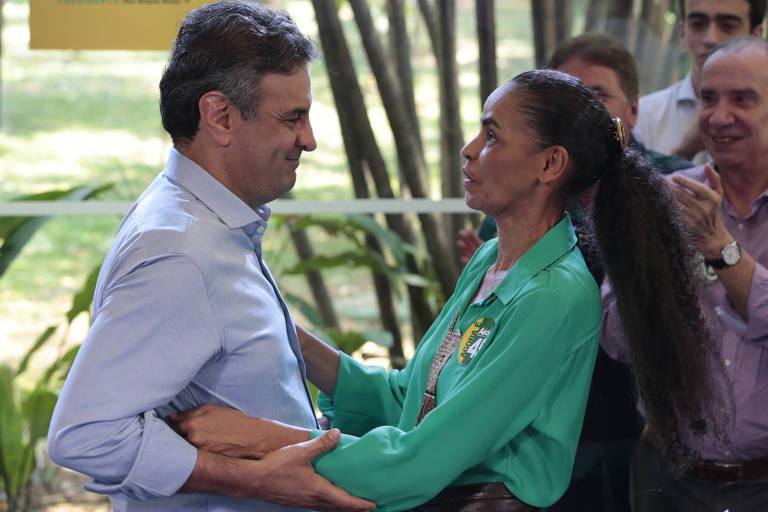 Esta é Marina Silva (Rede)