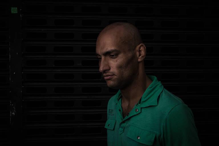 Willian Medeiros, 30, que recorreu a internação voluntária para se livrar do vício de crack