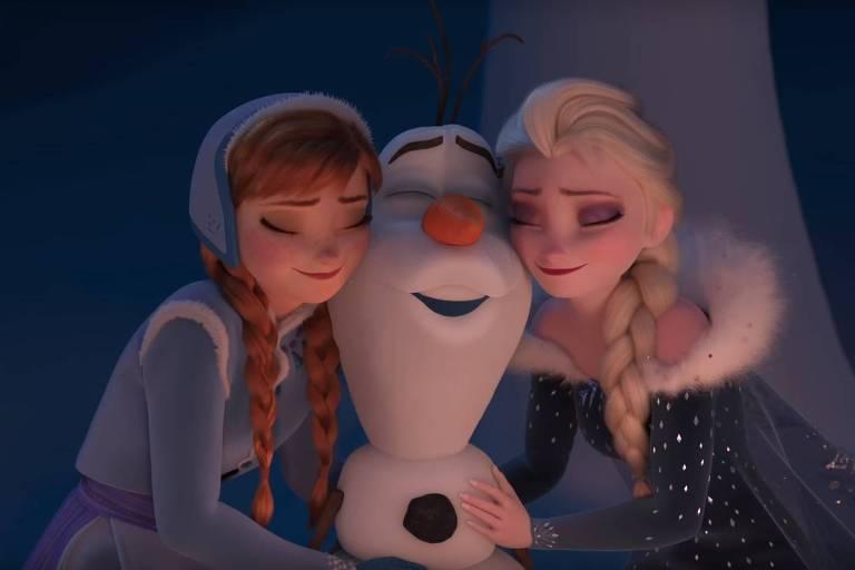 """Olaf protagonizará o curta """"""""Olaf --Em Uma Nova Aventura Congelante de Frozen"""""""