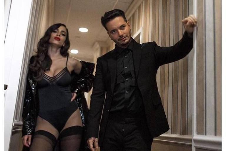 """Anitta e J Balvin gravam clipe de """"Downtown"""" em Nova York"""
