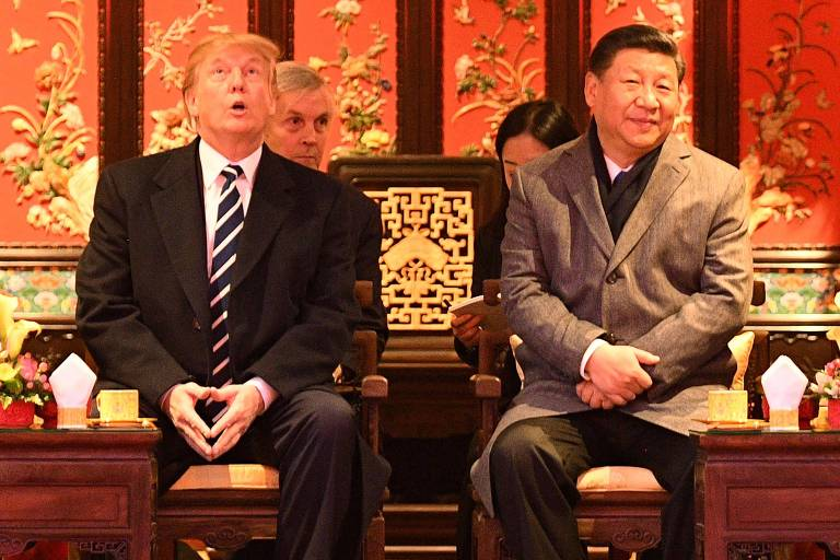 Donald Trump na China
