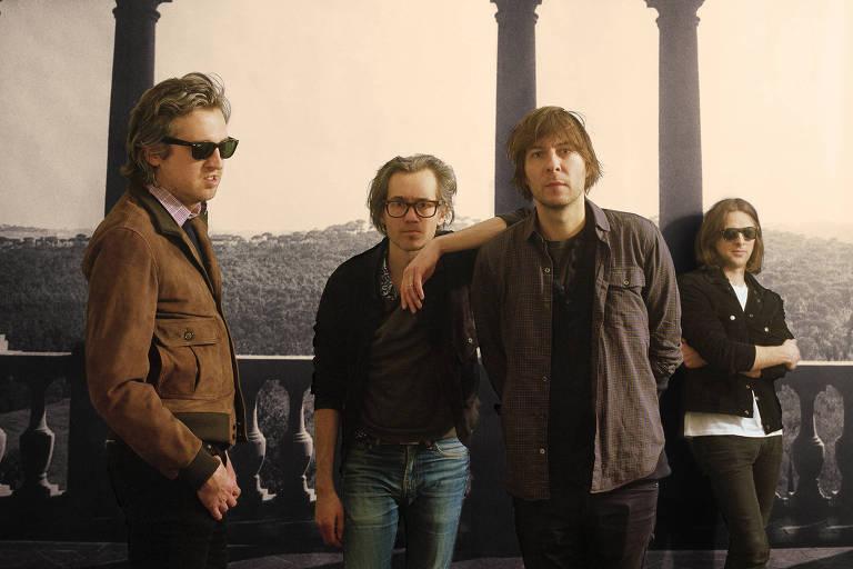 A banda de indie rock francesa Phoenix é uma das atrações do festival