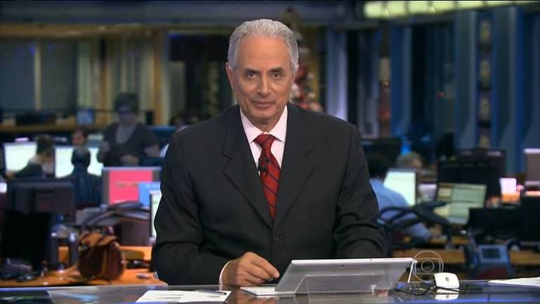 O jornalista William Waack