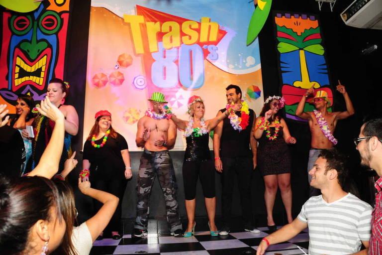 Trash 80's faz festas temáticas regadas a músicas dos anos 1980 e 1990