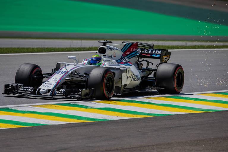 1º treino da F1 no Brasil