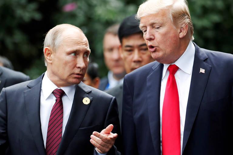Trump e Putin no Vietnã