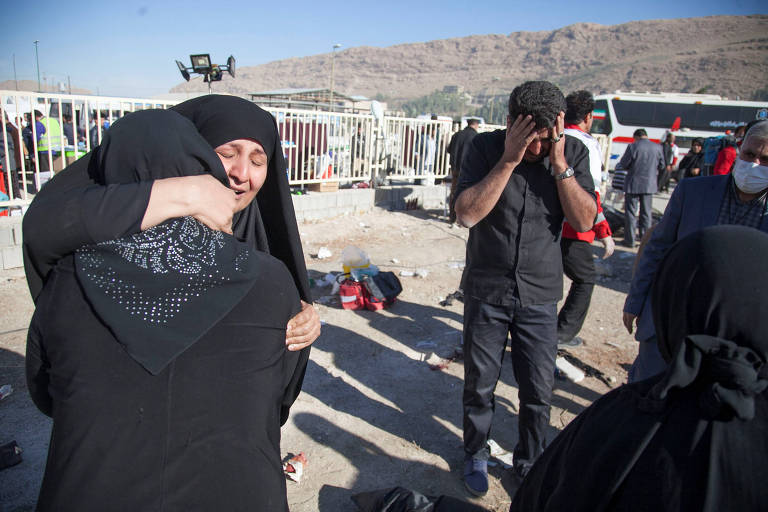 Terremoto na fronteira entre Ir� e Iraque