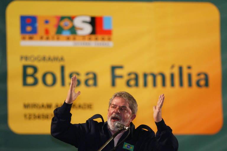 Lula no Bolsa Familia