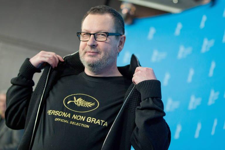 O cineasta Lars von Trier não foi acusado de assédio, mas sua produtora é acusada de manter ambiente abusivo