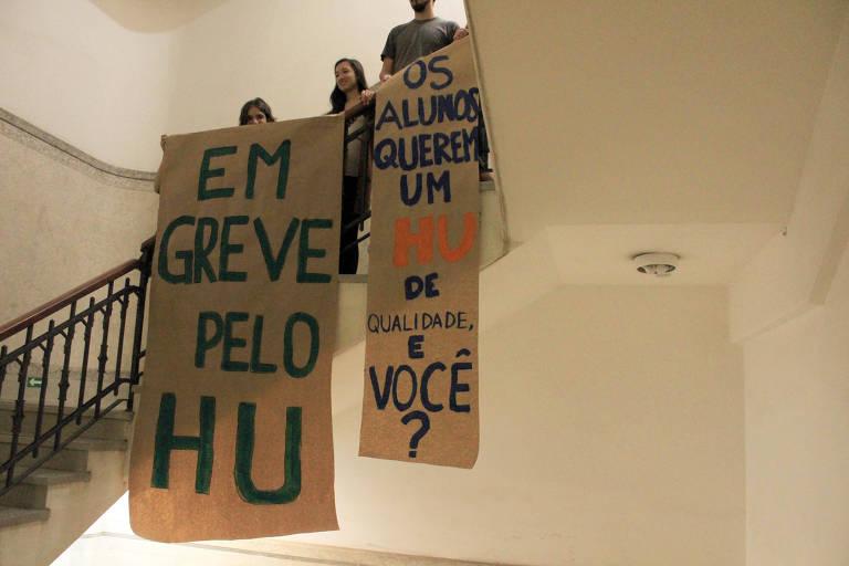 Estudantes de medicina da USP entram em greve por melhorias no Hospital Universitário