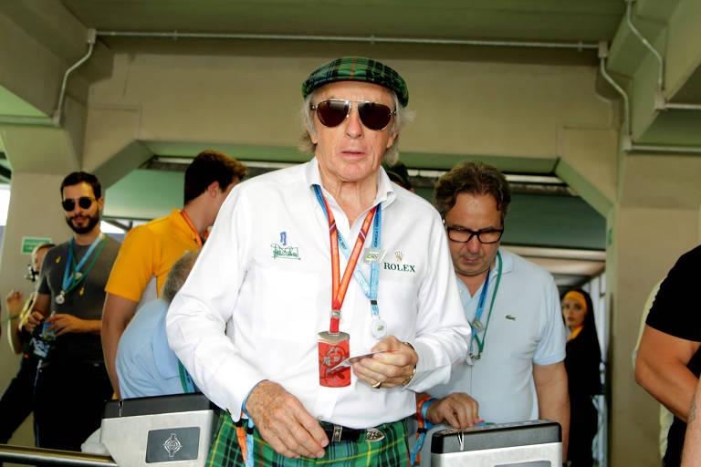 O ex-piloto de Fórmula 1 Jackie Stwart