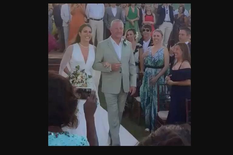 Casamento de Catharina, filha da socialite Narcisa Tamborindeguy
