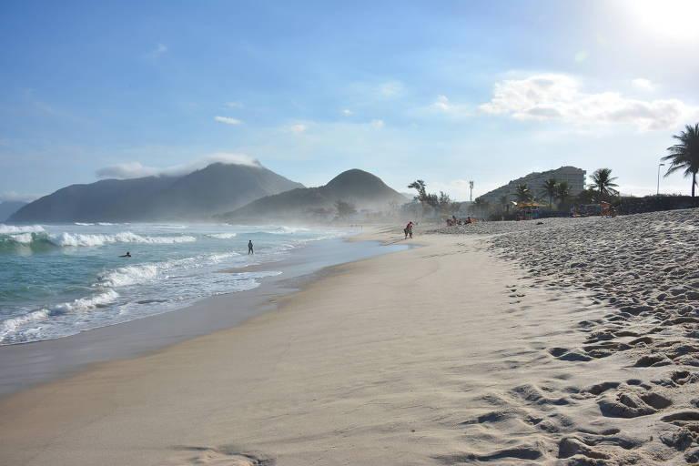 Zona oeste do Rio é alternativa para quem gosta de praias mais calmas