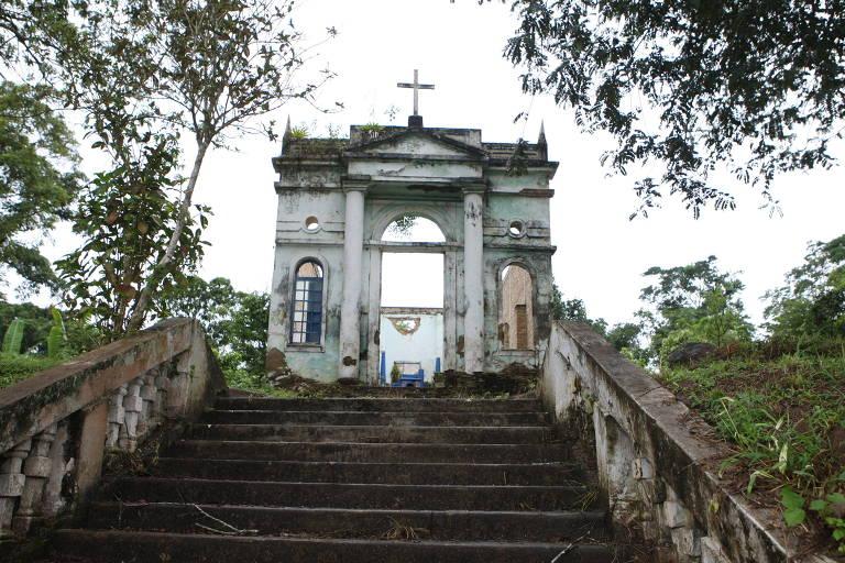 Vila fantasma na Bahia