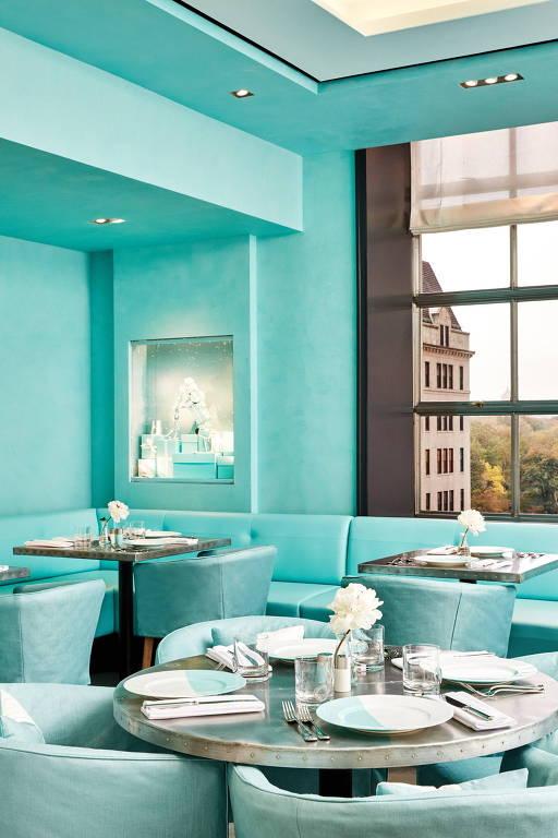 Joalheria do filme  Bonequinha de Luxo , Tiffany abre café em Nova ... 1670500c06